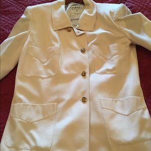 Chanel Vintage Silk Blazer