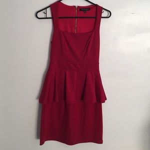 Luxe Cherry 🍒 Red Nordstrom Dress