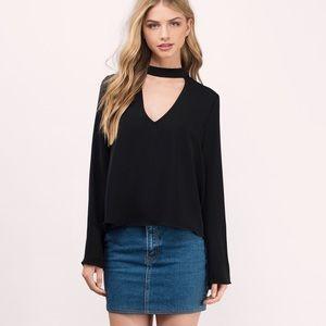 Black Tobi blouse