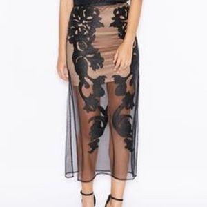 Bardot Dresses & Skirts - 🆕 NWT Bardot embroidered skirt XS