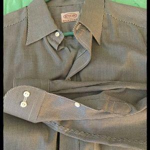 Eton Other - Eton Classic Houndstooth Shirt