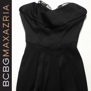 Strapless BCBG Semi-Formal Dress