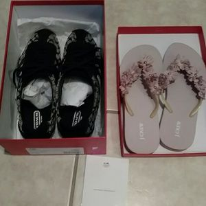 coach Shoes - Coach sneakers new with a free pair of flops