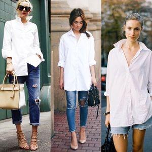 White Collar Boyfriend Shirt