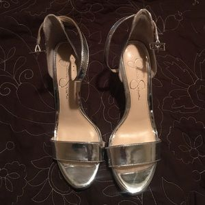 Jessica Simpson Shoes - Silver heel