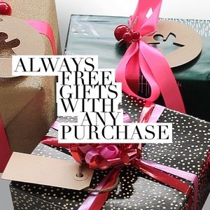 Free Gifts with any purchase!  Check my feedback😊