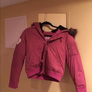 Juicy Couture Other - Lightly used pink juicy couture jacket !!