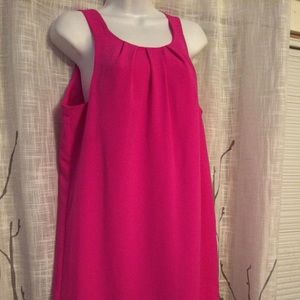 Isabel & Nina pink zip back dress size 6