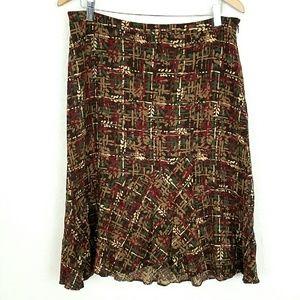LOFT Dresses & Skirts - Loft Skirt w/ Ruffle Hem