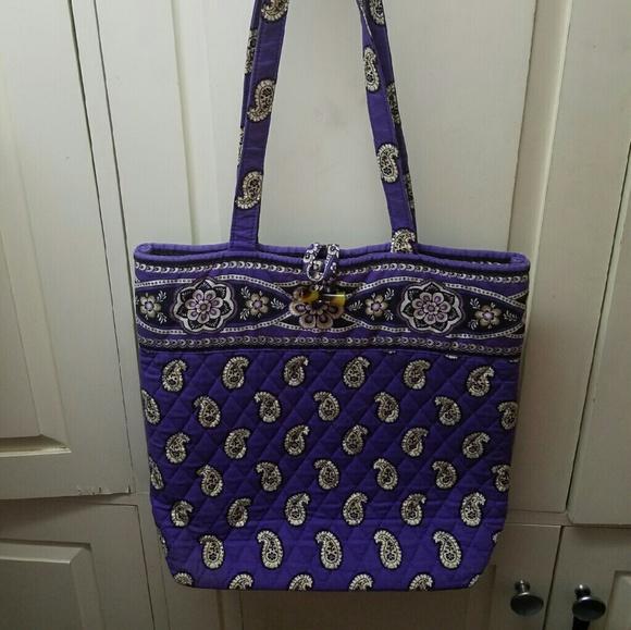 Vera Bradley Bags   Simply Violet Tote   Poshmark f878fb9b09