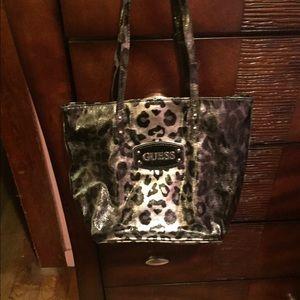 Guess Handbags - Guess Leopard Print Handbag