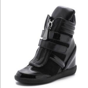 Monika Chiang Shoes - Monika Chiang Artemys patent sneakers