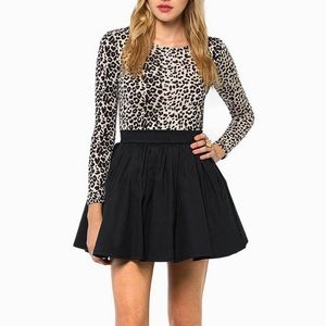 Tobi Dresses & Skirts - Tobi Leopard Print Skater Dress