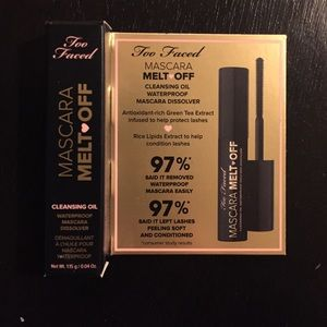 Too Faced Other - NWT Too Faced Mascara Melt Off