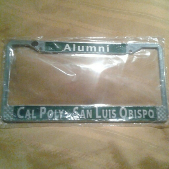 Cal Poly Accessories San Luis Obispo Alumni License