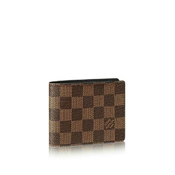 78d3575545a Louis vuitton man slender wallet damier NWT