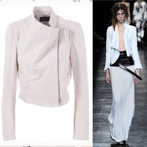 Ann Demeulemeester Jackets & Blazers - 🆕 ANN Demeulemeester $1361 runway gaby zip 42 10