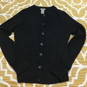 Medium Fashion Bug Black Cardigan