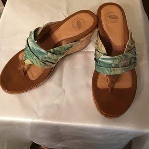 Nurture Sandals green