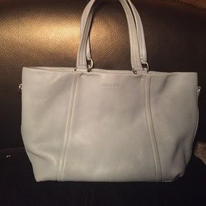 Prada Handbags - BABY BLUE PRADA TOTE