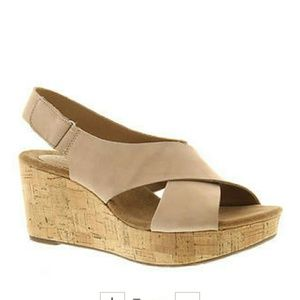 Shoes - Clark wedges