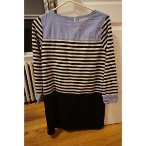 LOFT Cotton Mini Shift Dress - sz XS