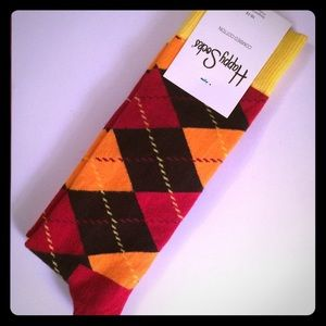 Happy Socks Other - NWT Argyle Happy Socks