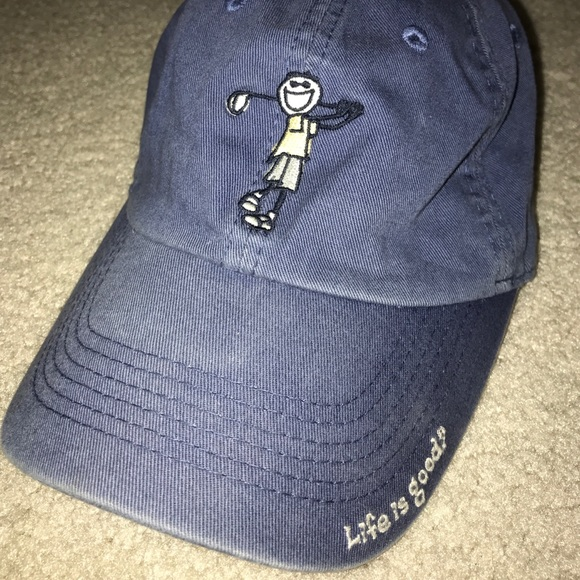 new arrivals 72dcf f2d2f Life is Good Other - LIFE IS GOOD golf hat