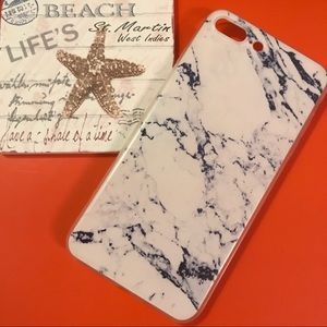 Accessories - SOFT SILICONE MARBLE IPHONE 7 & 7 PLUS CASE