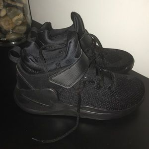 Nikes size six in boys for sale