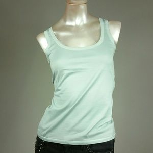 Loro Piana Tops - LORO PIANA cotton-silk knit tank