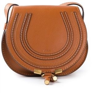Chloe Handbags - Authentic Chloe Mini Marcie in Camel