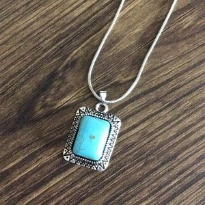 10/$20 SALE - NWT Cute Turquoise Necklace