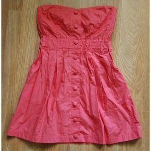 Forever 21 Dresses & Skirts - 💟BUNDLE SALE💟 {FOREVER 21} Coral Dress w/Pockets