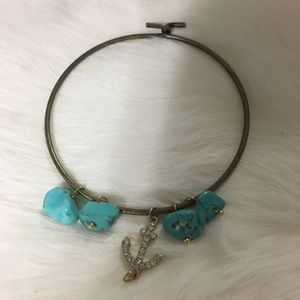 Jewelry - ‼️SALE‼️ Handmade Anchor stone bracelet