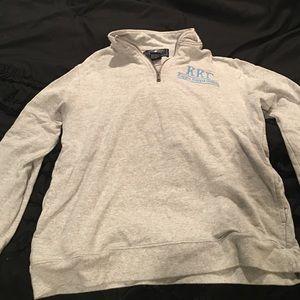 Sweaters - KAPPA KAPPA GAMME quarter zip grey pullover