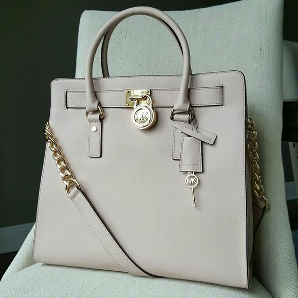 c650790fe34564 Michael Kors Bags | Hamilton Traveler Tote Ballet Pink Mk | Poshmark