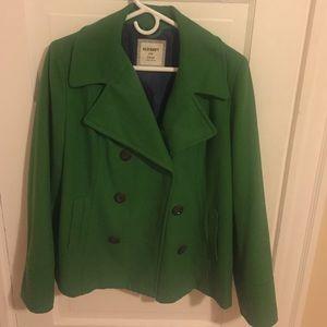 Green Pea coat, Never Worn