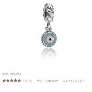 Pandora Apple Of My Eye Charm