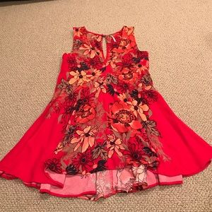 Free People Dresses & Skirts - Free People red flower dress