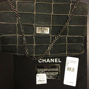 CHANEL Handbags - Authentic Chanel rare suede shoulder bag.