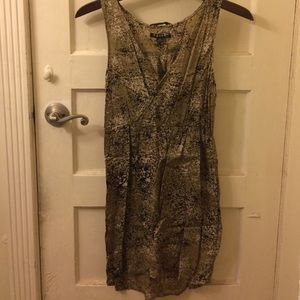 Volcom Green Faux Wrap Dress