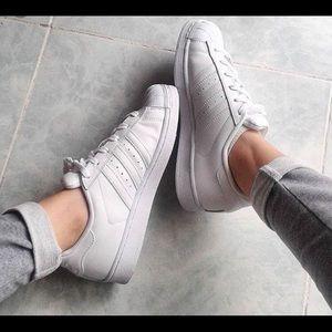 Adidas Shoes - Adidas Women's Superstars 7.5