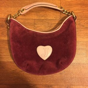 Juicy Couture Handbags - Vintage Juicy Couture Pink/Fuchsia Mini Purse