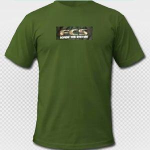 Fin Control Systems Other - EUC {FCS} Men's Screw the System Tee