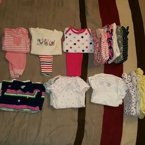 Other - 25 Pieces of baby girl clothes