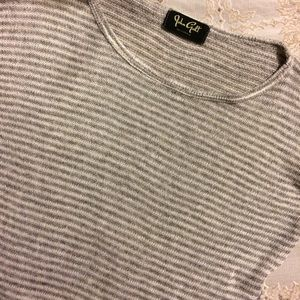 Brandy Melville Tops - John Galt striped knit long sleeve