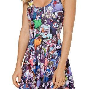 Blackmilk Dresses & Skirts - BlackMilk Zombie Nation Reversible Skater Dress XL