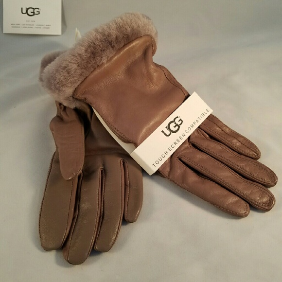 WOMEN'S CLASSIC LEATHER SMART GLOVE NWT