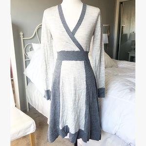 BCBG Sweater Wrap Dress